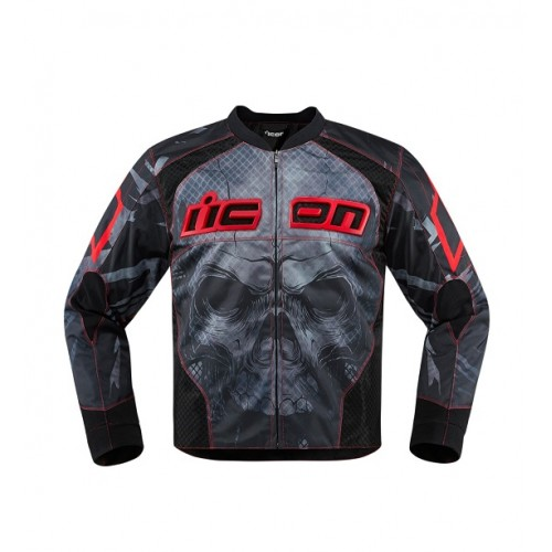 ICON - TEXTILE - OVERLORD REAVER JACKET RED