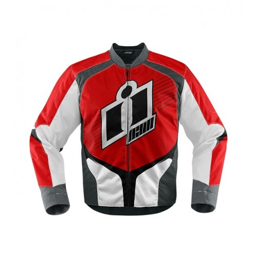 ICON - TEXTILE - OVERLORD JACKET RED