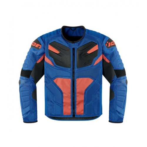 ICON - TEXTILE - OVERLORD RESISTANCE JACKET BLUE