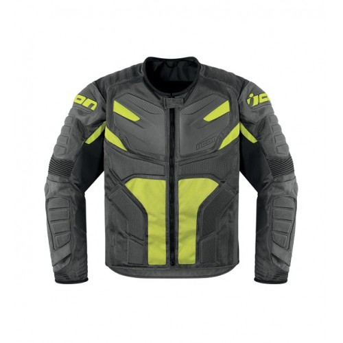 ICON - TEXTILE - OVERLORD RESISTANCE JACKET GREY