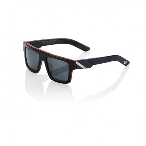 100% - BOWEN - BLACK / RED