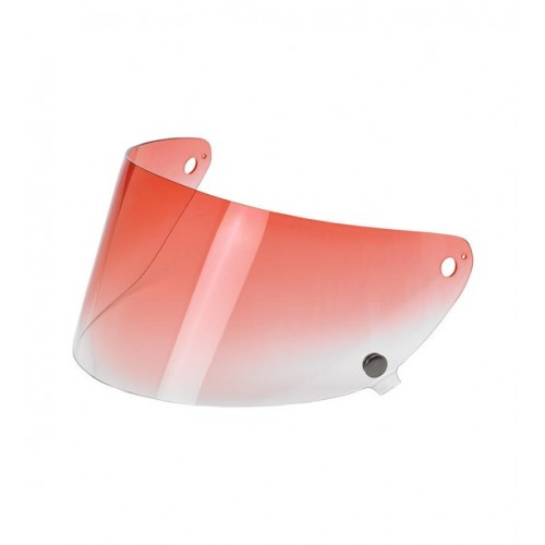 BILTWELL - GRINGO S FLAT SHIELD - RED GRADIENT
