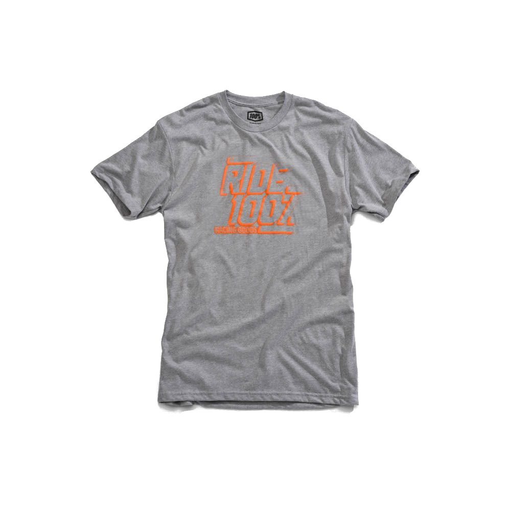 100% - SHIRT - ELLIOT TSHIRT HEATHER GREY