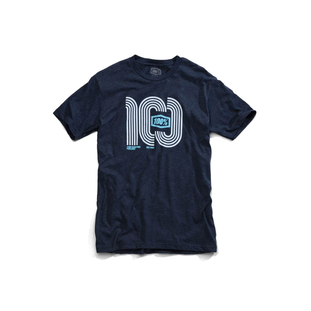 100% - SHIRT - HAIRPIN TSHIRT NAVY