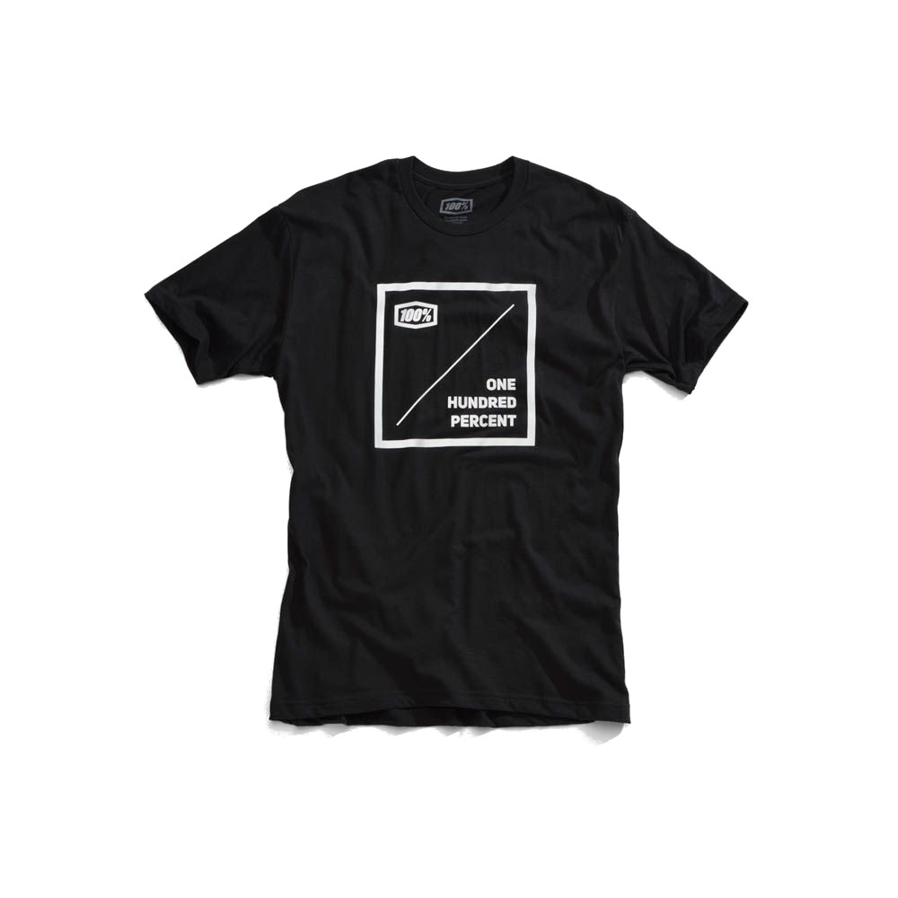 100% - SHIRT - NATIONAL TSHIRT BLACK