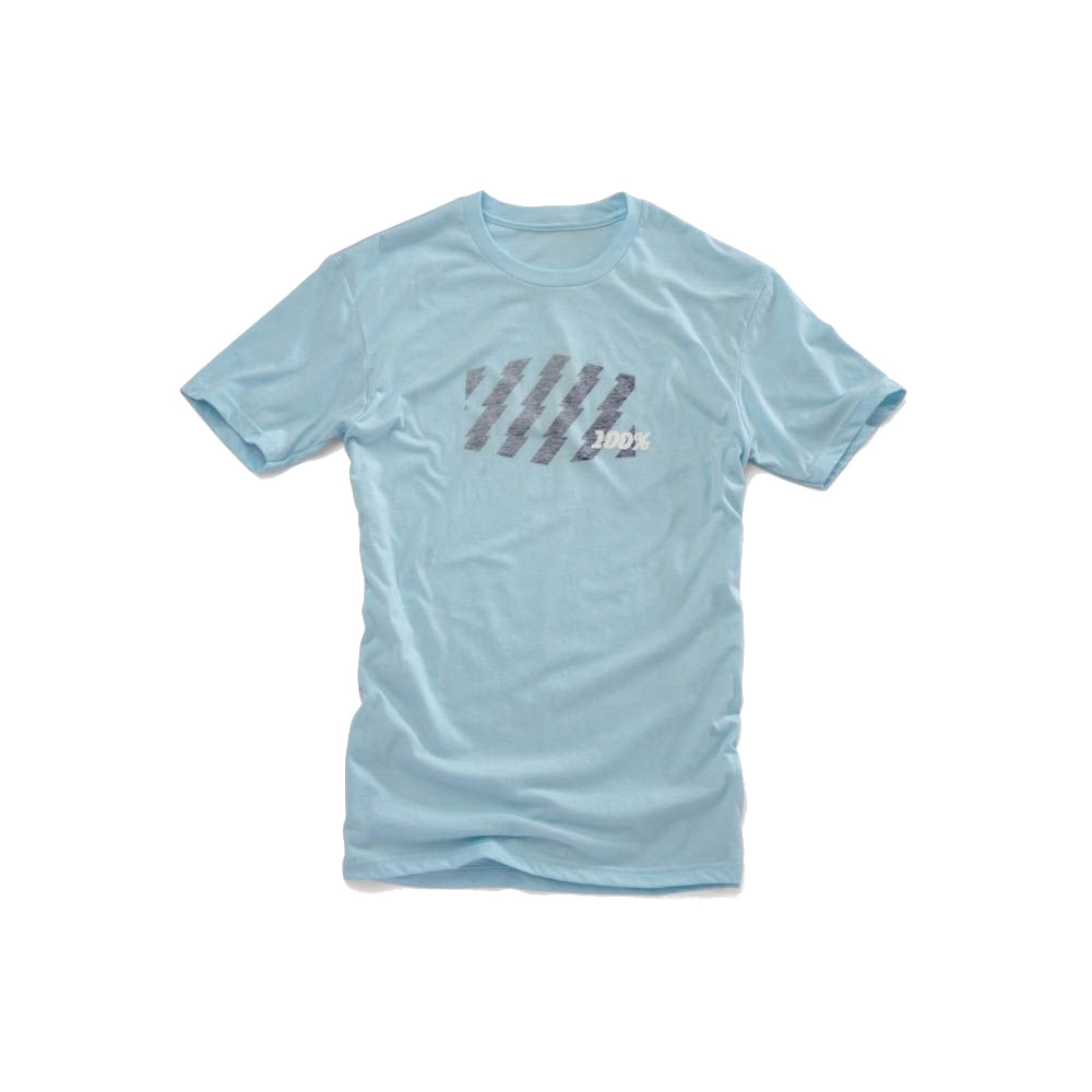 100% - SHIRT - STRIKE TSHIRT ICE BLUE