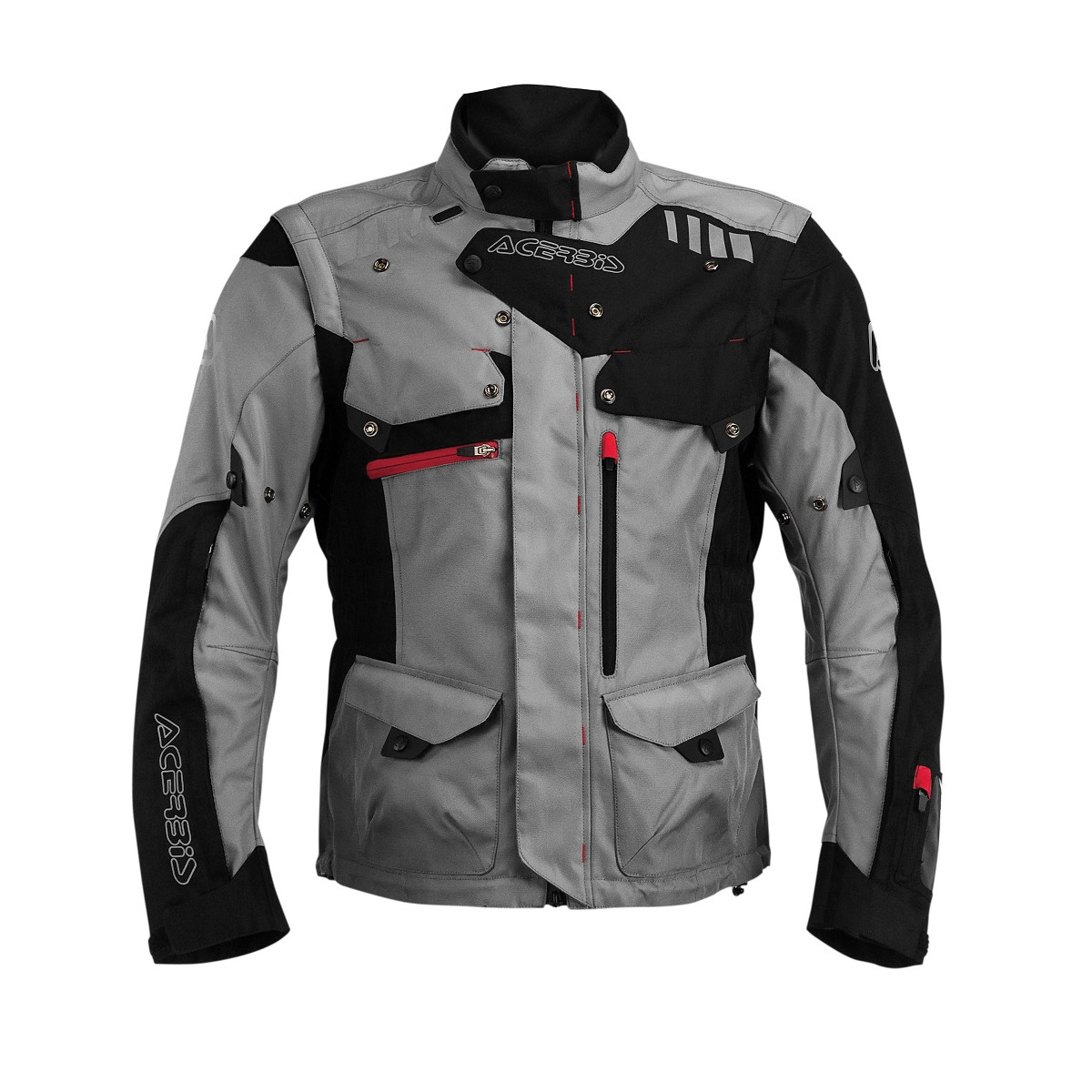 ACERBIS - ADVENTURE JACKET - BLACK GREY