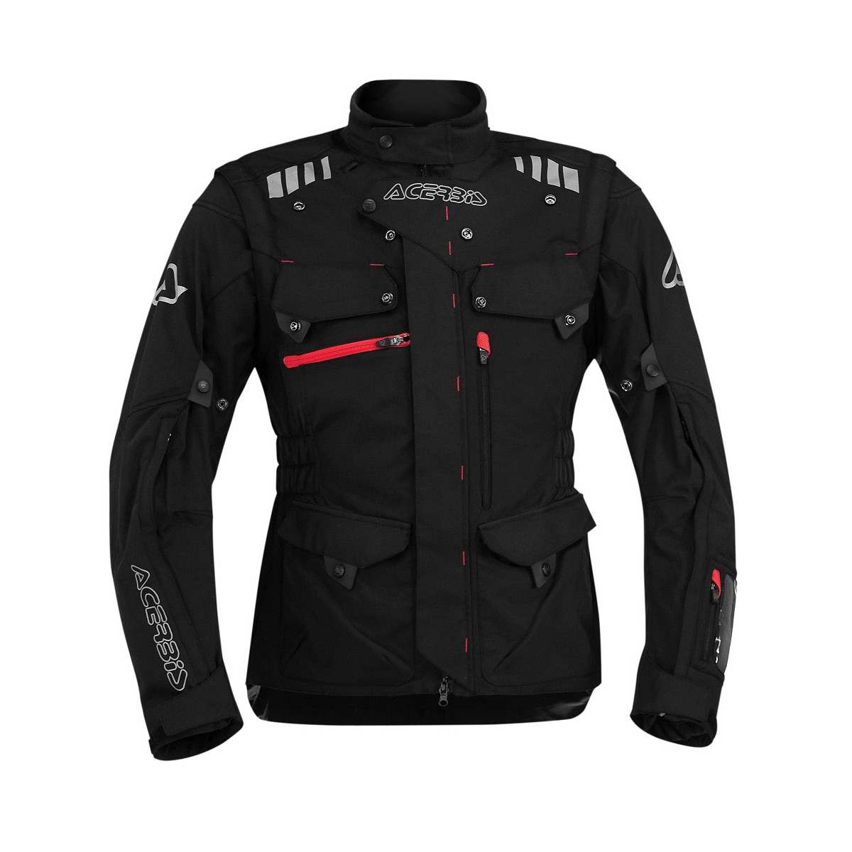 ACERBIS - ADVENTURE JACKET - BLACK