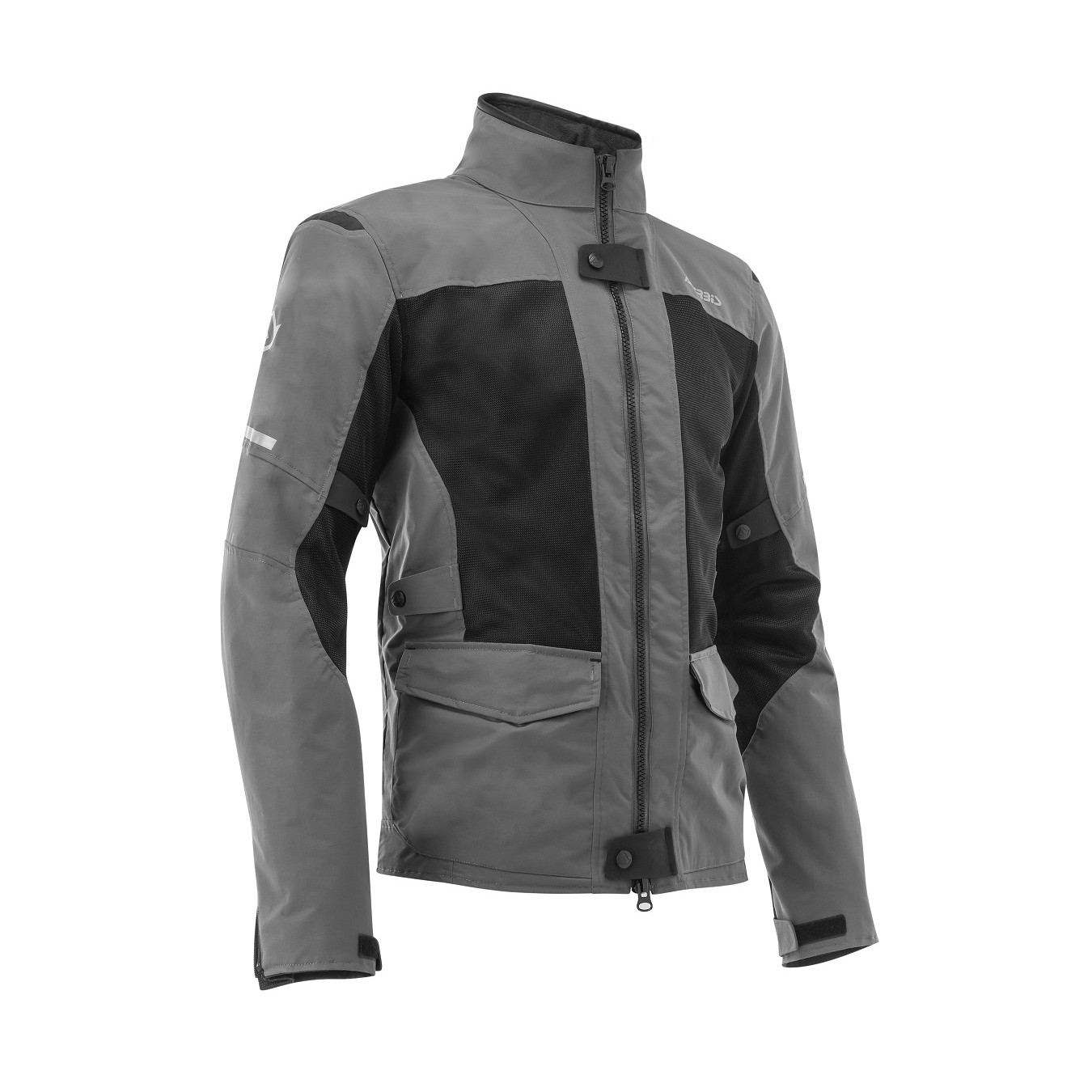 ACERBIS - RAMSEY MY VENTED 2.0 LONG JACKET - BLACK GREY