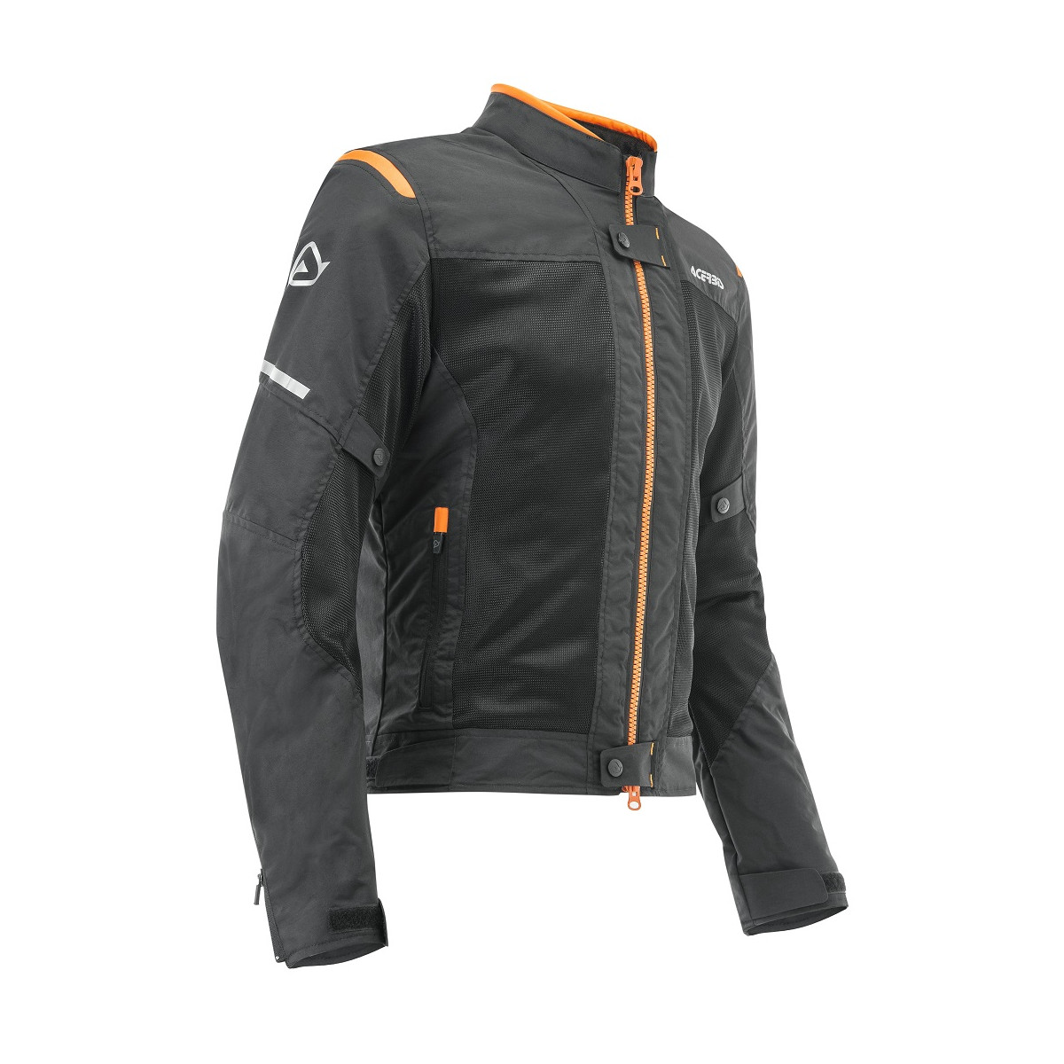 ACERBIS - RAMSEY MY VENTED 2.0 JACKET - BLACK ORANGE