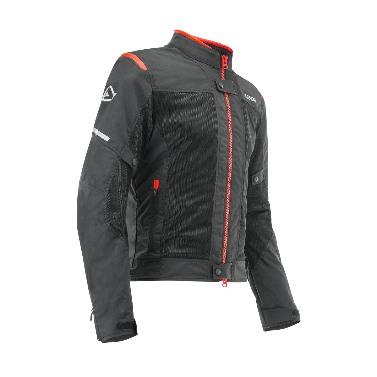 ACERBIS - RAMSEY MY VENTED 2.0 JACKET - BLACK RED