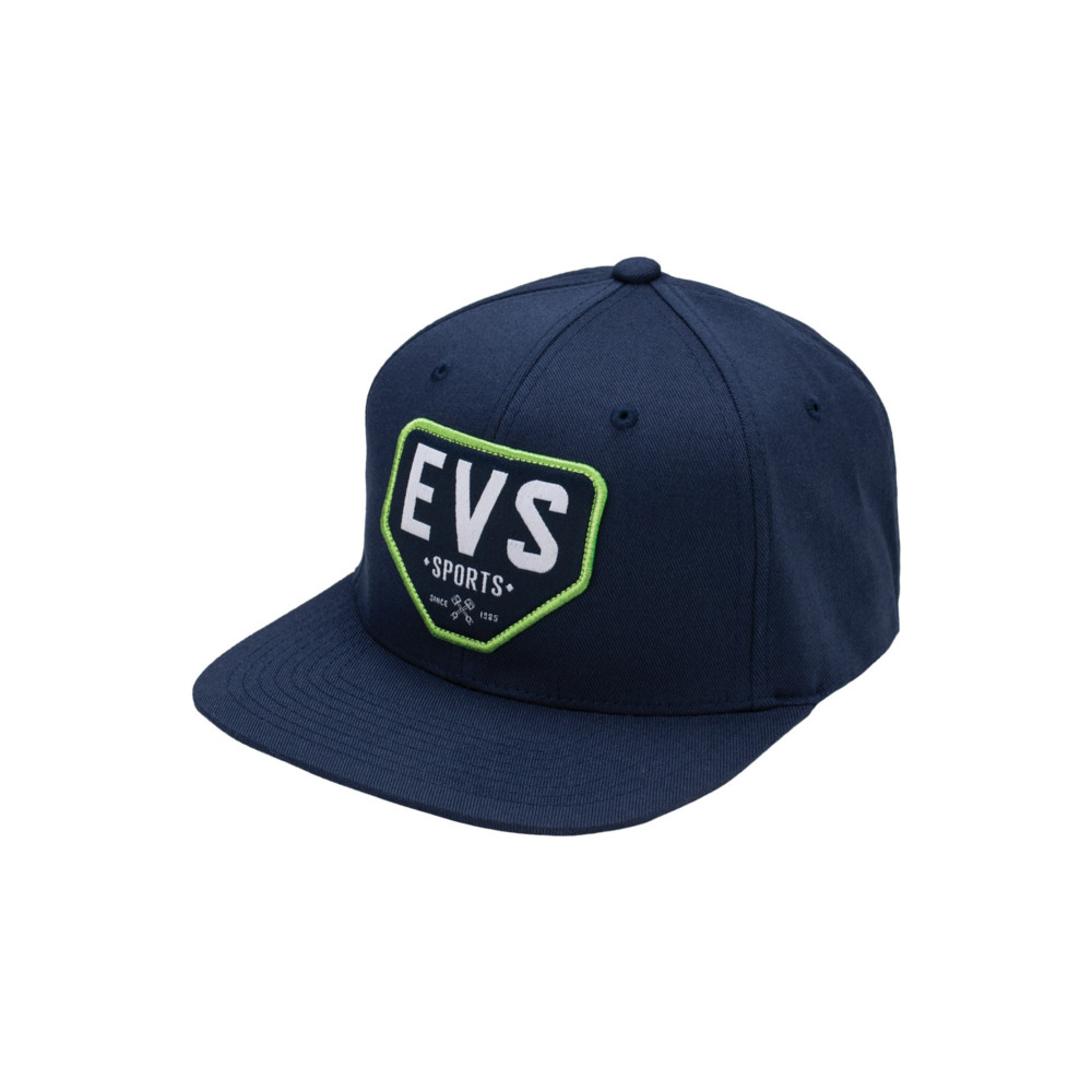 EVS - HAT - PLATED HAT FLEXFIT NAVY