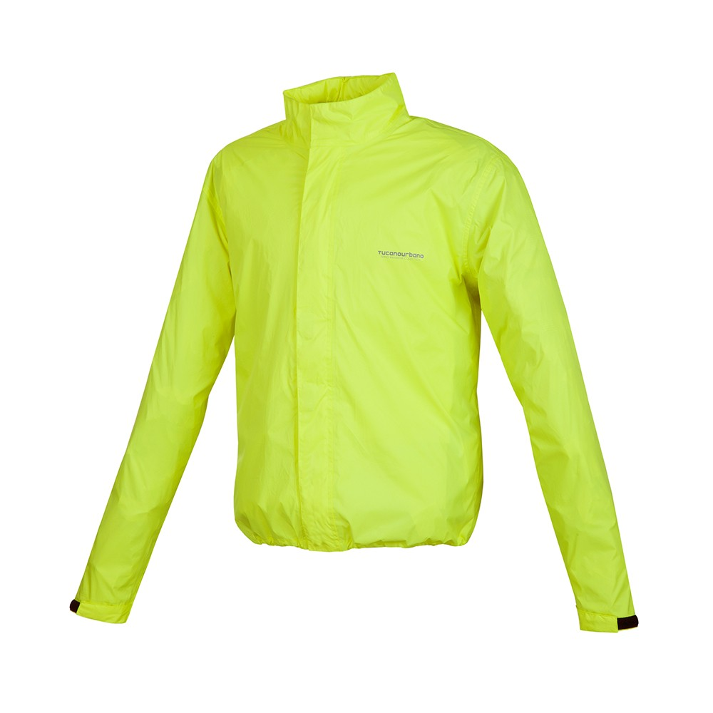 TUCANO URBANO - NANO RAIN PLUS JACKET FLUOROCENT YELLOW